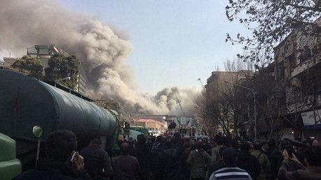 At least 38 people injured as Iran's oldest high-rise tower collapses in Tehran – state TV