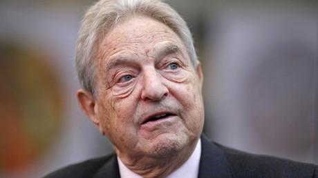 George Soros © Bob Strong