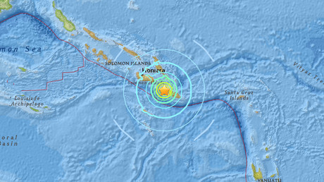 Powerful 6.8 quake strikes near Solomon Islands