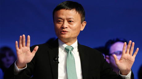 Alibaba executive chairman Jack Ma, attends the annual meeting of the World Economic Forum (WEF) in Davos, Switzerland, January 18, 2017 © Ruben Sprich