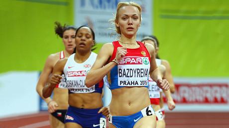 Anastasiya Bazdyreva © Ian Walton / Getty Images