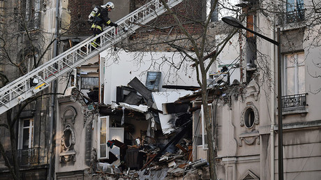 Five injured as building collapses after suspected gas leak in Paris suburb (PHOTOS, VIDEOS)