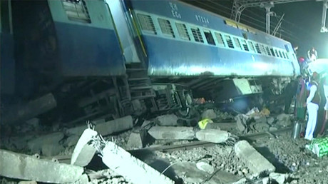 At least 36 killed, dozens injured after train derails in India