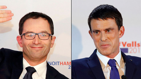 Ex-French PM Valls and his social rival to face off in final round of presidential primaries