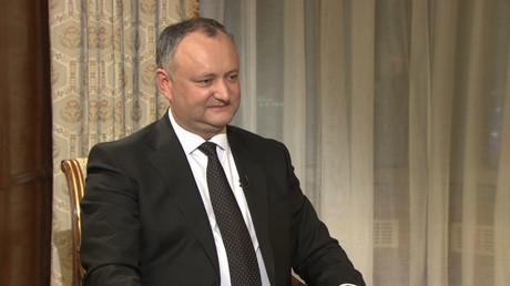 Igor Dodon - the President of Moldova