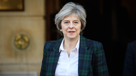 Britain's Prime Minister Theresa May © Leon Neal