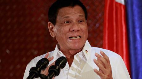 Philippine President Rodrigo Duterte. ©Czar Dancel