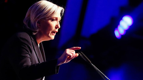France's National Front leader Marine Le Pen © Wolfgang Rattay