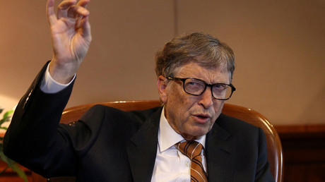 Billionaire philanthropist and Microsoft co-founder Bill Gates © Tiksa Negeri