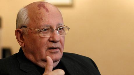 Mikhail Gorbachev, former Soviet leader © Grigory Dukor