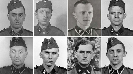 Photos of the Auschwitz-Birkenau staff featured in the database © pamiec.pl