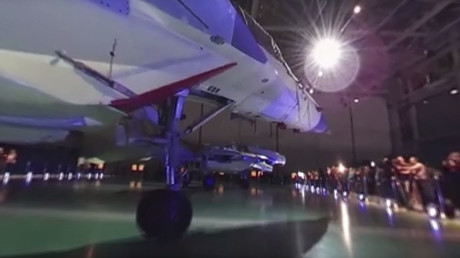Checking out the 4th gen Russian fighter jet: MiG-35 in 360