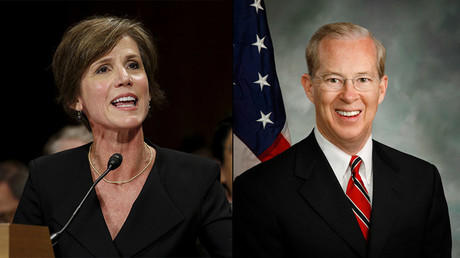 Sally Quillian Yates and Dana J. Boente © Reuters / Wikipedia