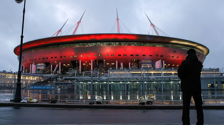 Zenit-Arena Stadium in St. Petersburg.© Mikhail Kireev
