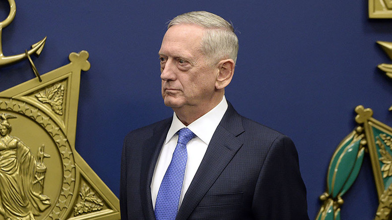 Iran is biggest state sponsor of terrorism – Pentagon chief Mattis — RT News