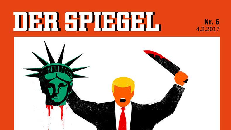 Der spiegel editor in chief defends beheading cover for Spiegel journal