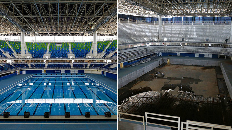 Deserted Rio 2016 Venues Decaying Just 6 Months After