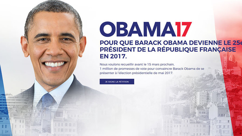 yes we can petition launched for obama 2017