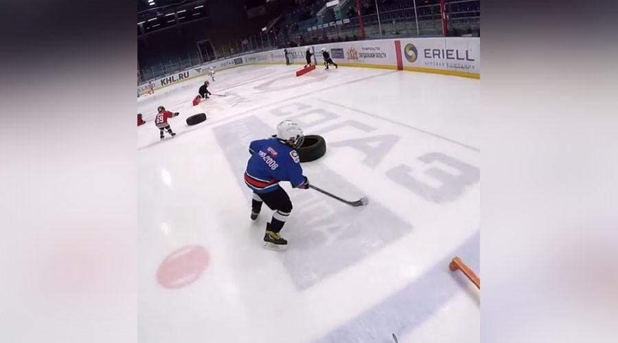 Videos of Russian kids' crazy ice hockey skills go viral