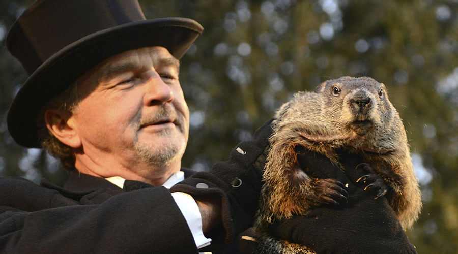 More winter is coming: Punxsutawney Phil predicts another 6 weeks of cold weather (VIDEO)