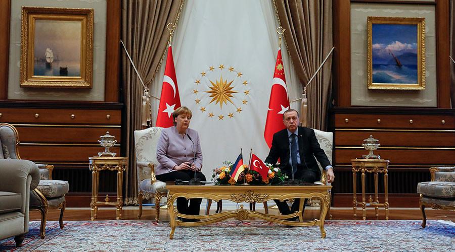 'Islam is a religion of peace': Erdogan rebukes Merkel for 'Islamist terrorism' phrase