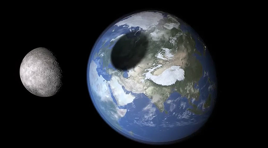 Apocalypse then? Moon on course to collide with Earth in 65bn years