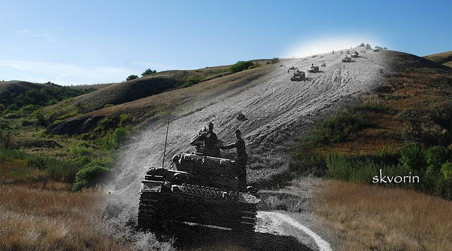 Through time: Photographer revisits spots of historic Stalingrad battle pictures (PHOTOS)