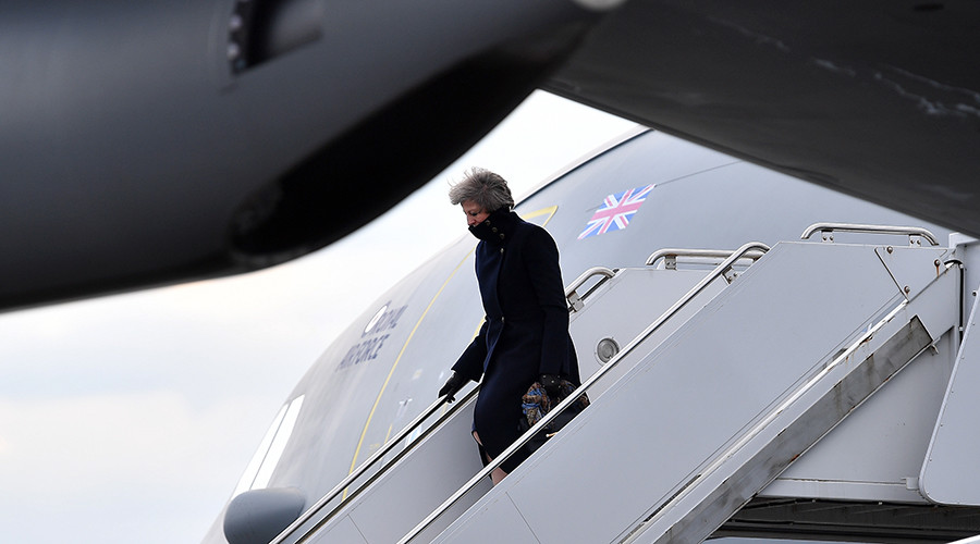 'Flying target'? Theresa May's US-Turkey flight was visible on popular tracking app