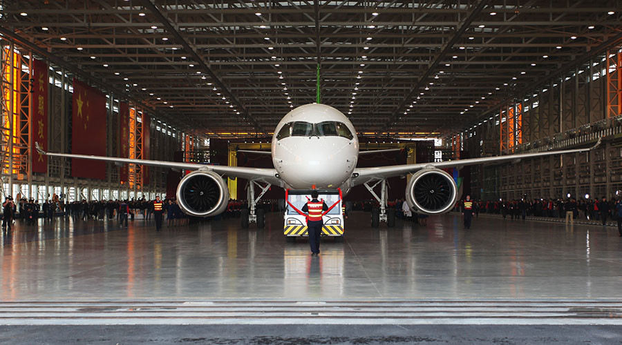First large airliner made in China to debut in 2017