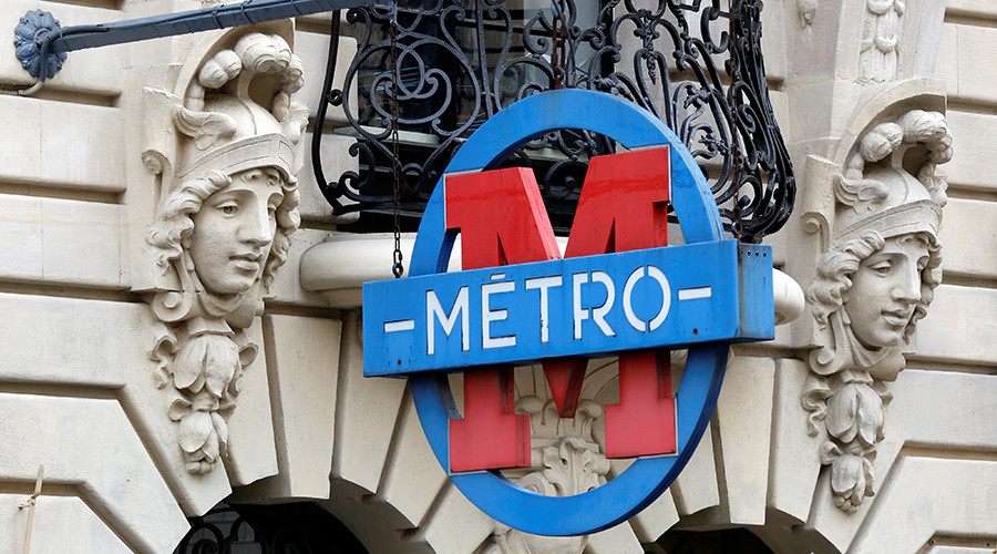 Evacuation, injuries reported as blast & fire rip through Paris metro station
