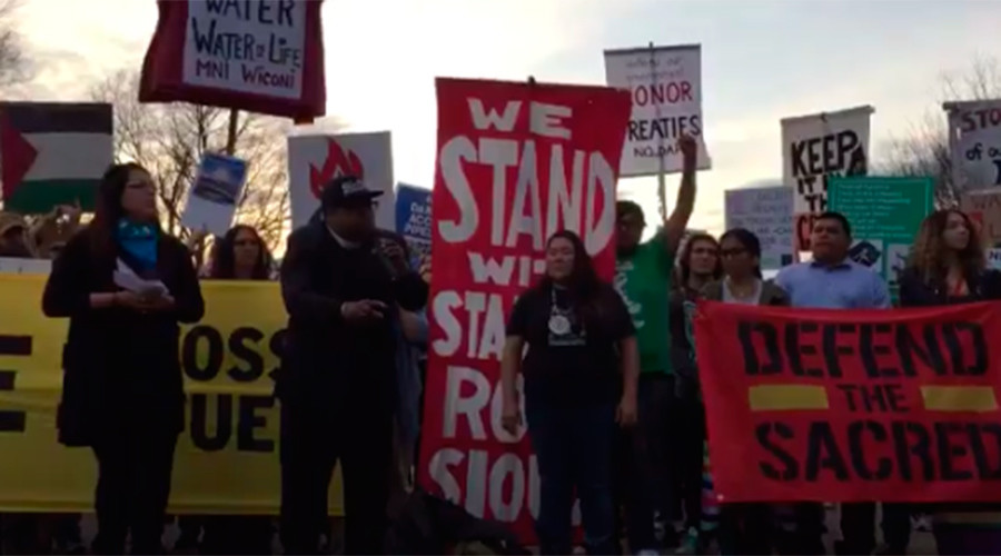 'Last stand': Protests erupt as Standing Rock Tribe vows court challenge to DAPL easement