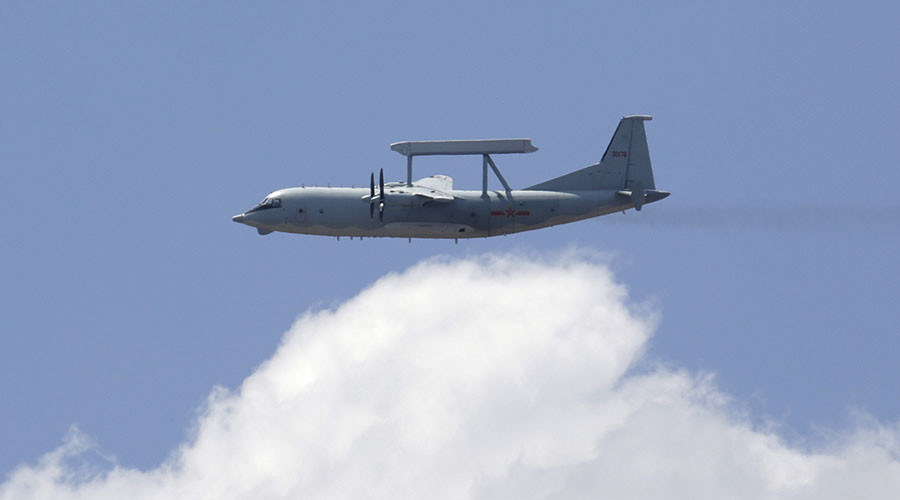 Chinese & US patrol aircraft come 'unsafely' close over disputed South China Sea