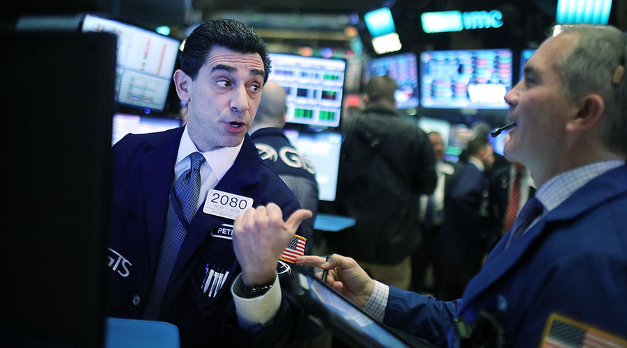 Wall Street surges to record high on Trump's hint of 'phenomenal' tax cut