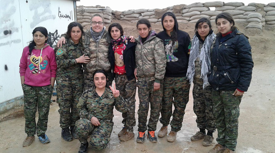 'I would die for this': Liverpool woman joins fight against ISIS in Syria