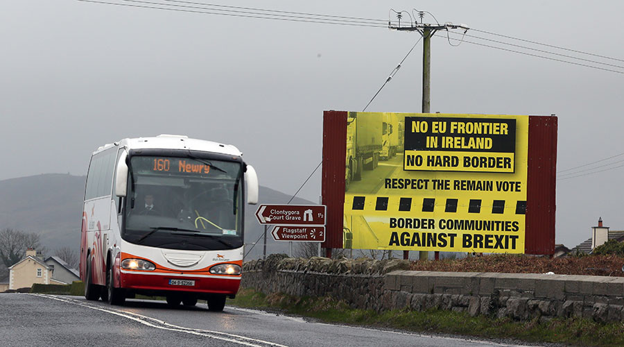 Hey EU, we're with you, but keep UK border invisible - Dublin to Brexit negotiators