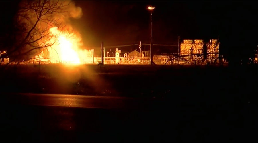 'Large blowtorch': Louisiana gas pipeline explosion injures two