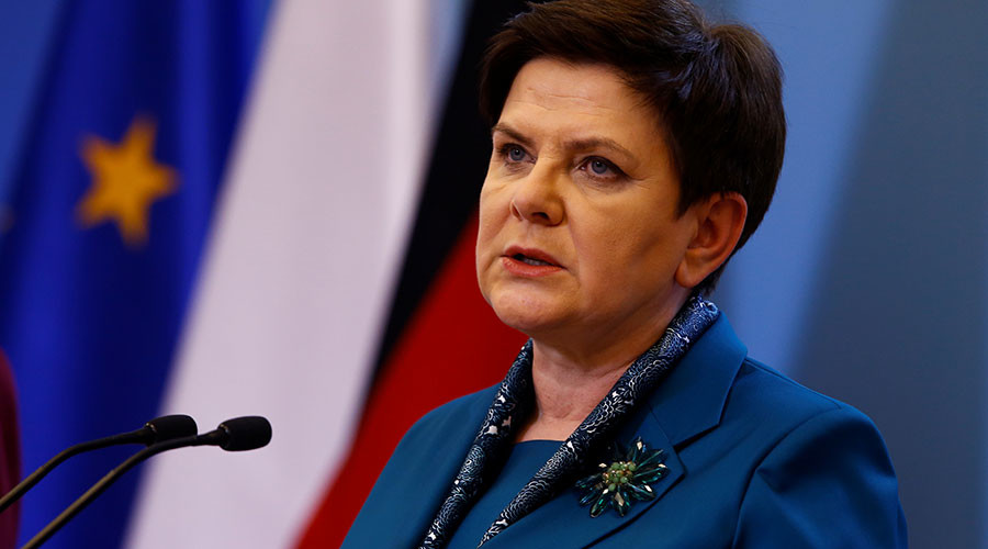 Polish PM in 'good condition' after auto crash