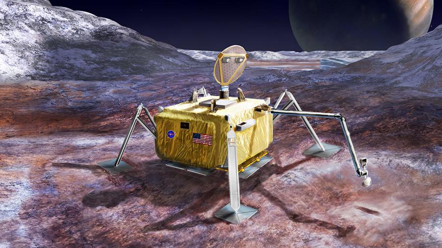 Alien life the target of NASA mission to Jupiter's frozen moon