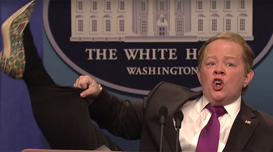 White House Press Secretary 'Spicy' lampooned for second time in SNL skit (VIDEO)