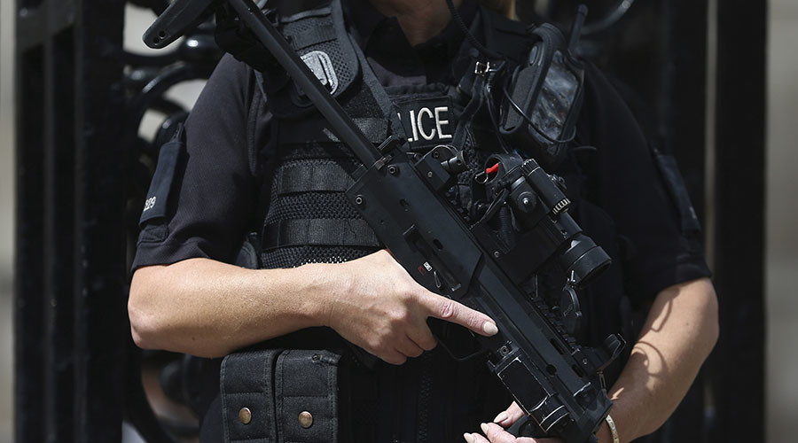 Tooled up: London police want more firearms & Tasers, poll shows