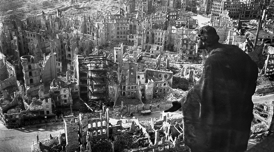 'Everything within 400 yards was incinerated': Dresden survivor recalls hellish WWII attack (PHOTOS)