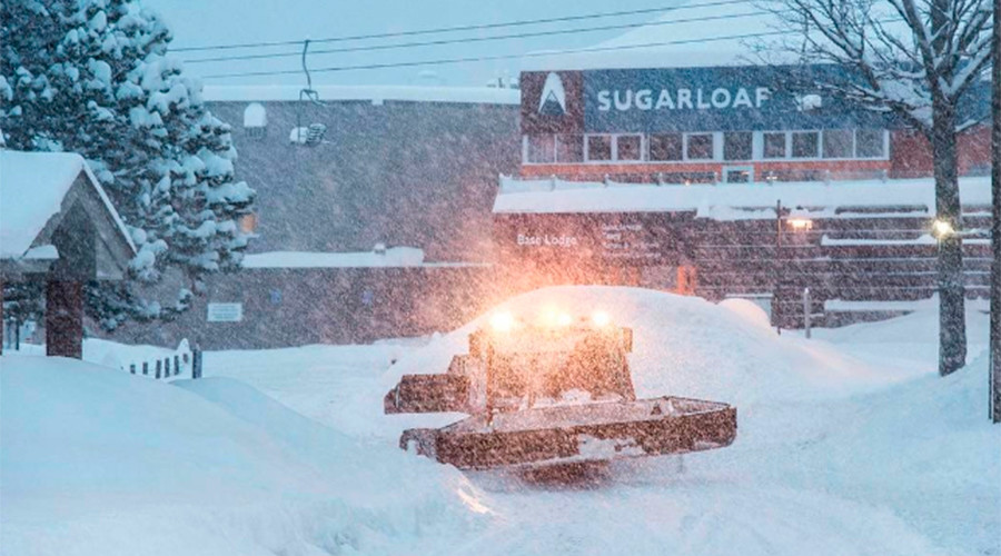 Cities across US report deep snow, strong winds and... foul odors