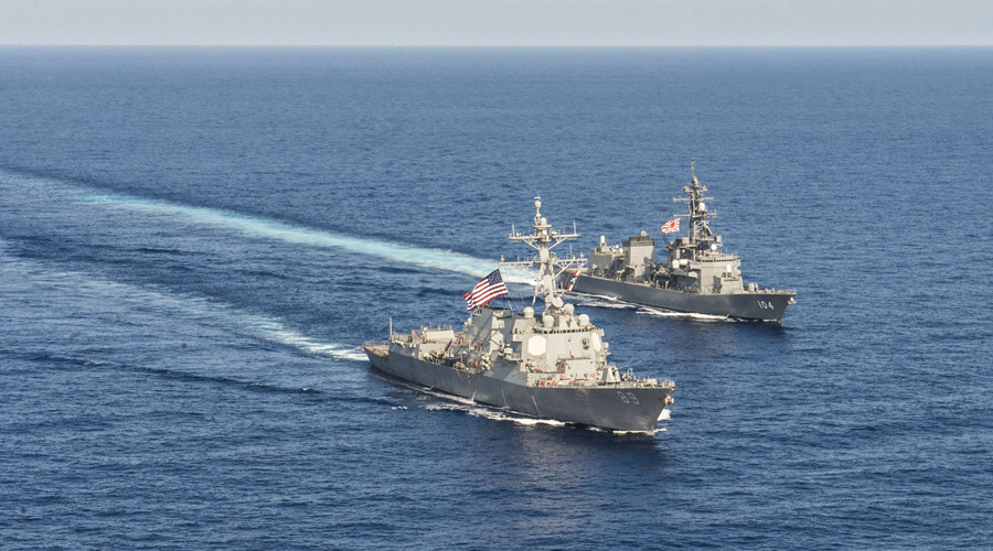 Beijing warns Washington against naval patrols in disputed S. China Sea