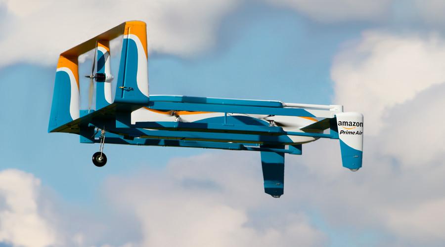 Drone & drop: Amazon wants to parachute your parcels