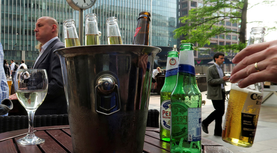 Lloyd's angers City employees with workday booze ban