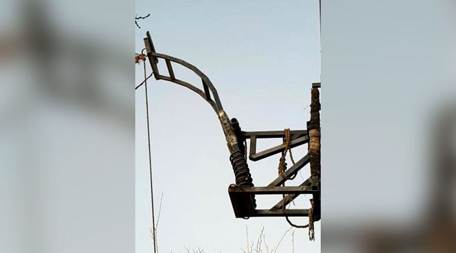Pot shots: Marijuana catapult seized at US-Mexico border
