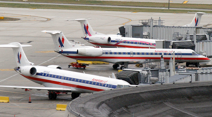 Airport runway closed after American Airlines plane hits deer