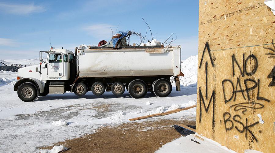 Dakota Access Pipeline protest camps deteriorating