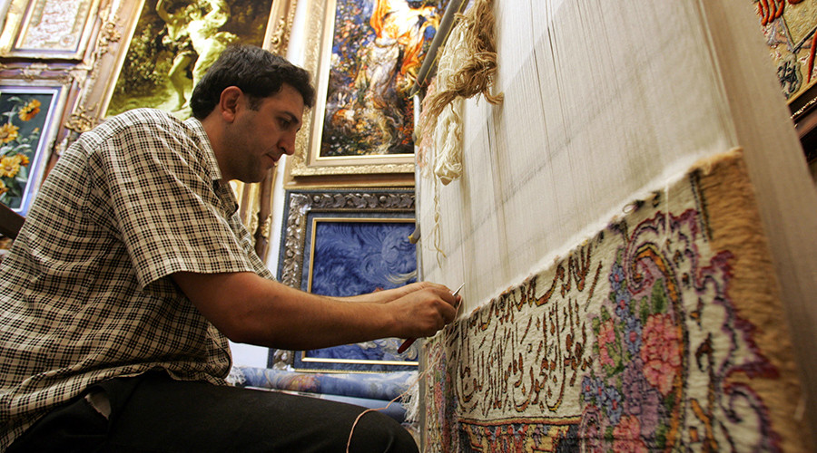 Sales Of Persian Rugs In Us Soar With Easing Of Iranian