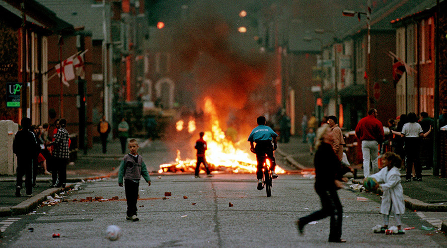 Hooded men: Conduct of British Army in N. Ireland 'on scale of war crime,' court told